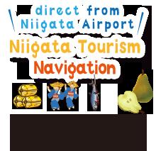 Niigata Tourism Navigation direct from Niigata Airport 新潟空港からの直行バスでのんびり観光!